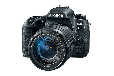 Canon EOS 77D DSLR Camera with Canon 18-135mm USM Lens NEW