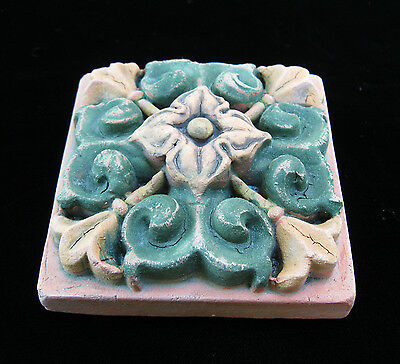 Flower  Floral   Garden  Arts & Crafts Gothic Ellison Tile