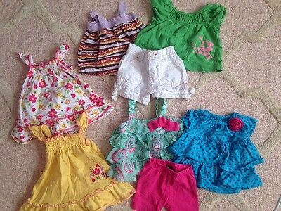 Baby Girl Clothes Lot 3-6 Months Spring Summer