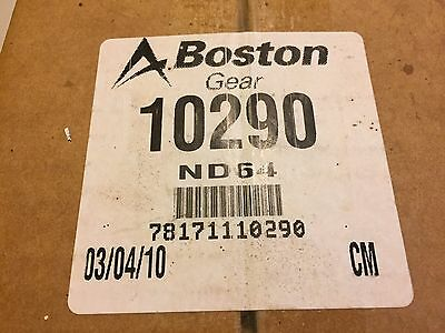 BOSTON GEAR ND64 SPUR GEAR 64 TEETH (NEW) This Auction for (2) gears.