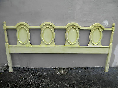 French King Size Painted Headboard by Bassett 1841