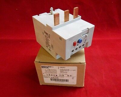 NEW In Box SPRECHER+SCHUH CEP7-EEGE Overload Relay 18-90A(Manual/Auto Reset)