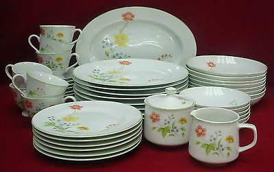 CASTLE COURT china APRIL FLOWERS pattern 46-piece SET SERVICE