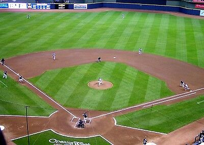 2 Chicago Cubs vs Milwaukee Brewers Tickets 4/8/17 - 2nd Row!!!