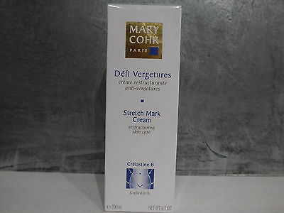 MARY COHR - DEFI VERGETURES - Crème restructurante anti vergetures 200ml