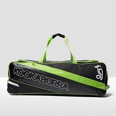 Kookaburra Pro 2000 Wheelie Cricket Kit Bag Black One Size Black