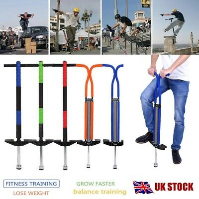 Kids & Adult Pogo Stick Jump Spring Stick Jumping training Sports Interaction UK