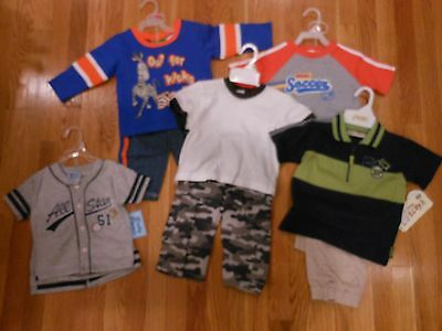 NEW Boys Size 12 18 Months Lot of Summer CLOTHES Outfits Carters Old Navy