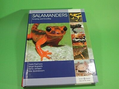 Salamanders Keeping and breeding Natur und Tier Verlag