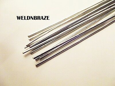8 x ALUMINIUM BRAZING SOLDERING ROD LOW TEMP USE PROPANE DISSIMILAR METALS 220MM