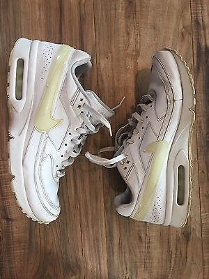 Nike Air Max Classic BW Solid White Men's Athletic Sneakers Size 12