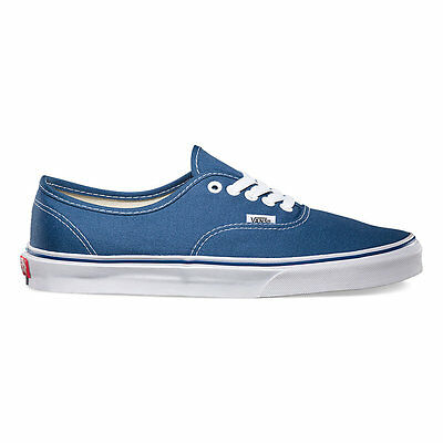 Vans Authentic NAVY Canvas Classic Shoes All Sizes Fast Shipping