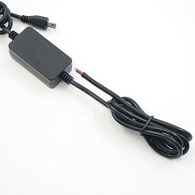 Black Hard Wire Car Power Supply Charger Cable for TK-102 GPS Tracker Showy