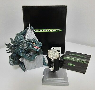 VERY RARE JAPANESE GODZILLA MONSTER LIMITED EDITION FOSSIL WATCH NEW with TAGS