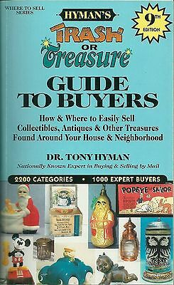 Dr. Tony Hyman's Trash or Treasure: Guide to Buyers (2000) 9th edition