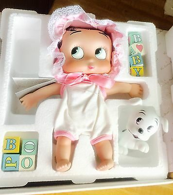 Collectible 'Baby Boop' Betty Boop Porcelain Doll-Vintage 1997 By Danbury Mint