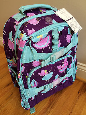 NEW Pottery Barn Kids PLUM FAIRY LARGE Backpack NWT