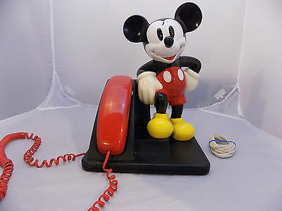 1990's AT&T 210 Mickey Mouse Phone with Volume Control