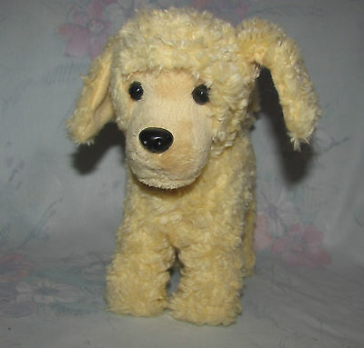 American Girl Doll Dog - 2014 Apricot Poodle - Golden Colour, Poseable