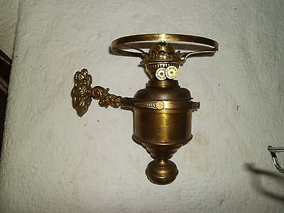 Antique Brass Ship Boat Maritime Oil Lamp Duplex England Made. Double Wick