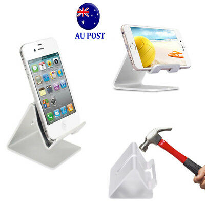 Universal Folding Aluminum Tablet Mount Holder Stand For iPad iPhone Samsung MN