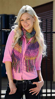 Knitting Kit: Create/Make A Noro Silk Garden Scarf - yarn, pattern - great gift