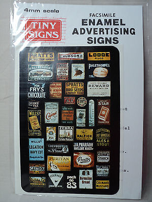 Tiny Signs OO/HO 'Enamel' Advertising Signs 2