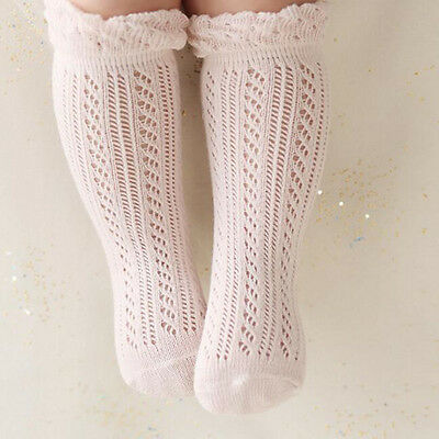 Princess Baby Girl Knee Socks Cotton Breathable Baby Socks Summer Socks For Girl