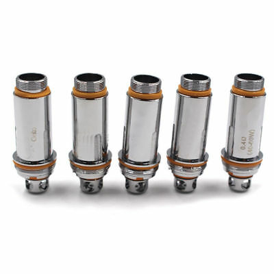 5xReplacement Dual Clapton Coils Head 0.27/0.2 0.4ohm For Cleito RTA T ank