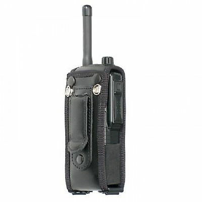Peter Jones Leather case with beltclip for Sepura STP8000 STP9000 radios  S069