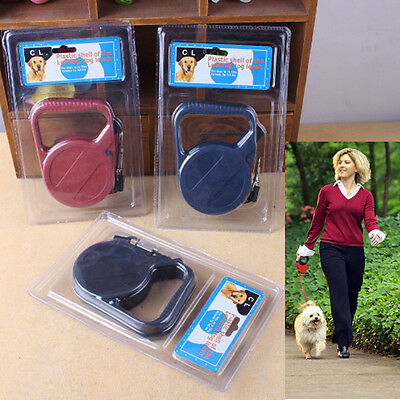 10ft/3M Automatic Retractable Pet Traction Rope Walking Lead Leash Fashion LAD