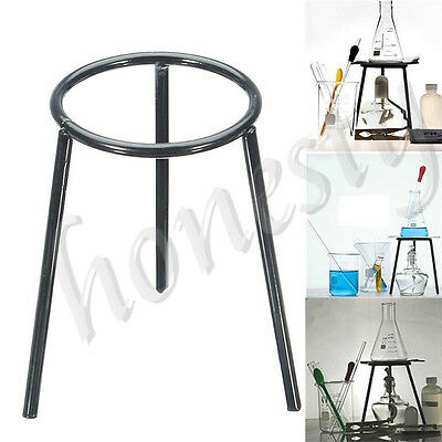 1Pc Lab Laboratory Bunsen Alcohol Burner Iron Support Stand Lamp Tripod Holder