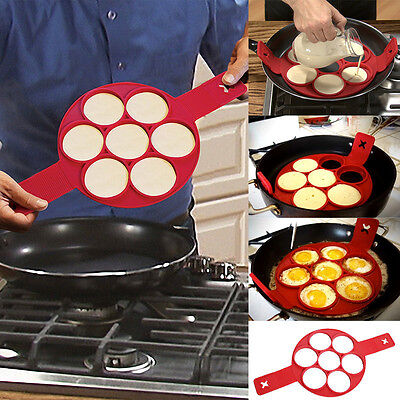 Non Stick Flippin' Fantastic Nonstick Pancake Maker Eggs Ring Maker Kitchen Mold