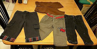 Baby Toddler Clothes Lot of 4 Pants 12 to 18 months Gymboree & Disney & More