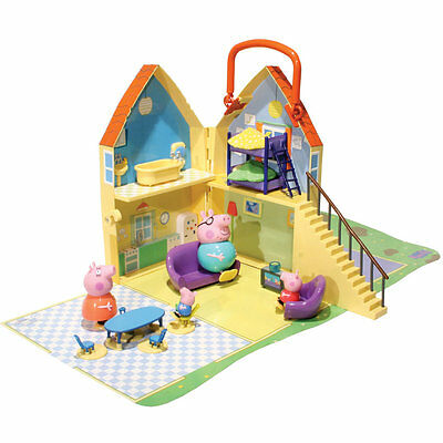 Peppa Pig Play House, Kids Play Set, Mummy Pig, Daddy Pig & George Included