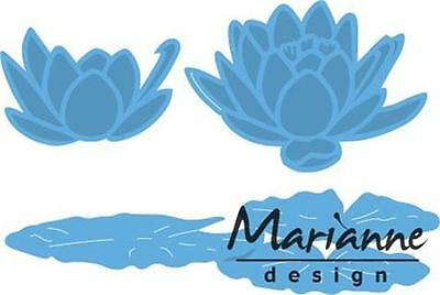 Marianne Design Creatable Die Cut Embossing Stencil Small Water Lily Lr0459