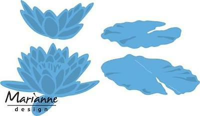 Marianne Design Creatable Die Cut Embossing Stencil Large Water Lily Lr0460
