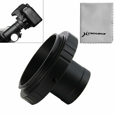 Lens Adapter T-Ring for Nikon DSLR Camera + 1.25in /31.7mm Telescope Mount DC616
