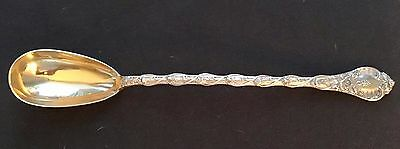 ODIOT .950 French Sterling DEMIDOFF VERMEIL PLATTER SPOON with Custom ODIOT Box