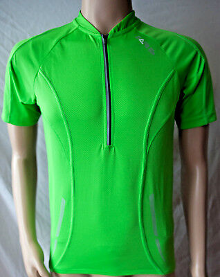 Dare 2b DMT076 Men s Transfix Short Sleeve Cycling Jersey Fluro Green Small 969debfee