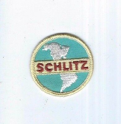 Collectible Old Patch Schlitz Beer Milwaukee Wisconsin