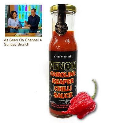 Chilli Sauce - Venom Carolina Reaper Superhot Sauce - NEW