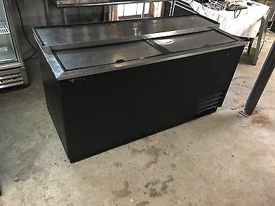 "True Bottle Cooler TD-65-24 Horizontal 65"" Bottle Cooler"