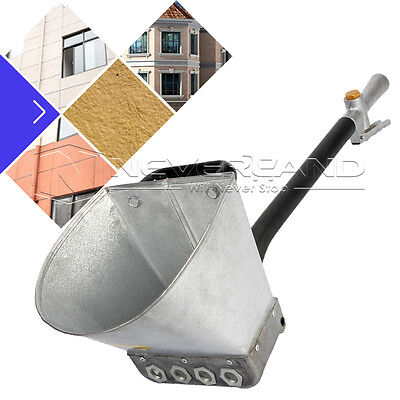 4 Jet Cement Mortar Sprayer Hopper Stucco Spray Gun Concrete Tool Paint Wall NEW
