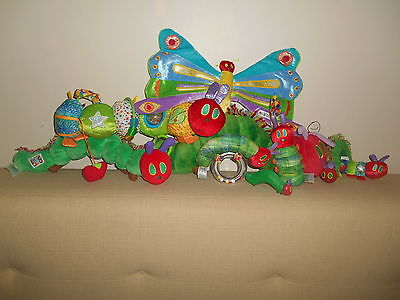 The Very Hungry Caterpillar Lot of 9 Soft Plush Decor Baby Shower Eric Carle