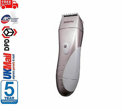 Babyliss 8664U Bikini Line Cordless Trimmer Wet Dry Shaver Lady Hair Remover Set