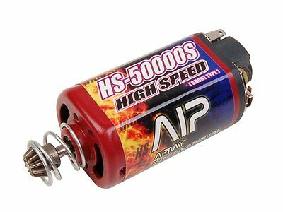 AIP High Speed Motor Short HS-50000 for AK Airsoft AEG V.3/ 7 Gearbox (AIP007)