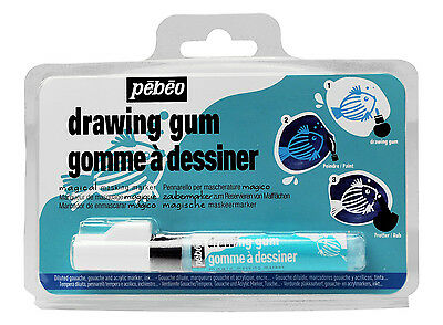 NEW Pebeo Synthetic Drawing Gum Masking Fluid Precision Marker Pen