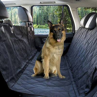 Pet Rear Seat Cover Back Bench Dog Mat for Family Cars and Small SUV Hammock