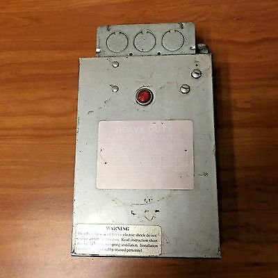Phase A Matic 3-5 Hp Static Phase Converter / 220V 3Ph Preowned